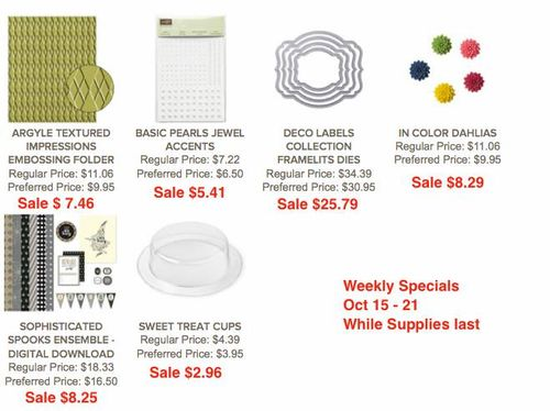Weekly Deals Oct 15