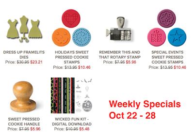 Weekly specials 22-28