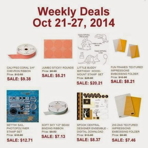 Weeky deals - Oct 21