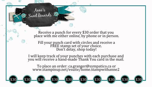 Business card punch card (ordered)