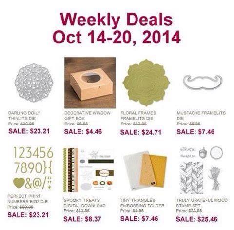 Weekly Deals - Oct 14