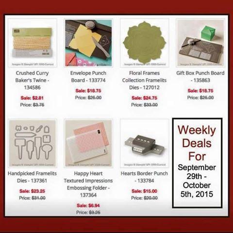 Weekly deals Sept 29
