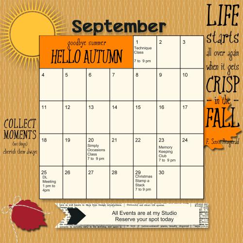 Calendar of Events-005